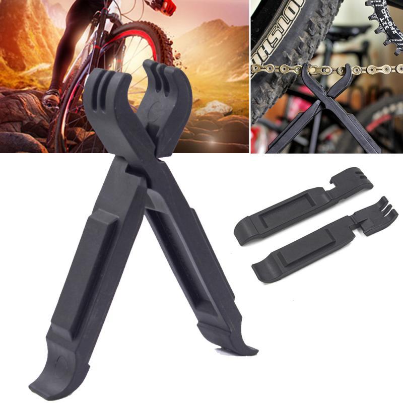 1 para wielofunkcyjna dźwignia do opon opona rowerowa opona dźwignia MTB droga opona rowerowa łańcuch naprawa narzędzie do usuwania rower ogniwo główne szczypce