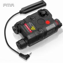 FMA AN/PEQ-15 Battery Box Red Dot Laser+White LED Flashlight+ IR Night Vision Weapon Light 20mm Rail