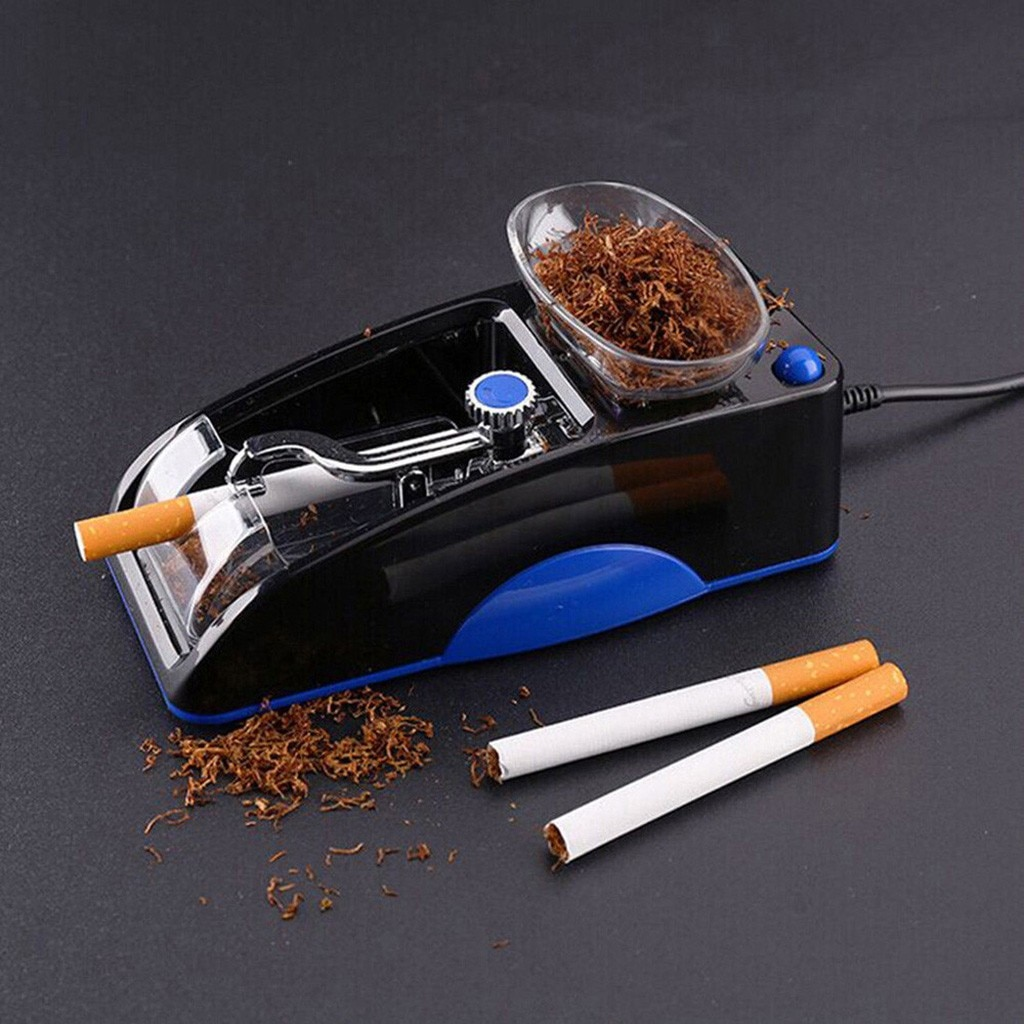 1pc Electric Easy Automatic Cigarette Rolling Machine Tobacco Injector Maker Roller Drop Shipping Smoking Tool Yxd
