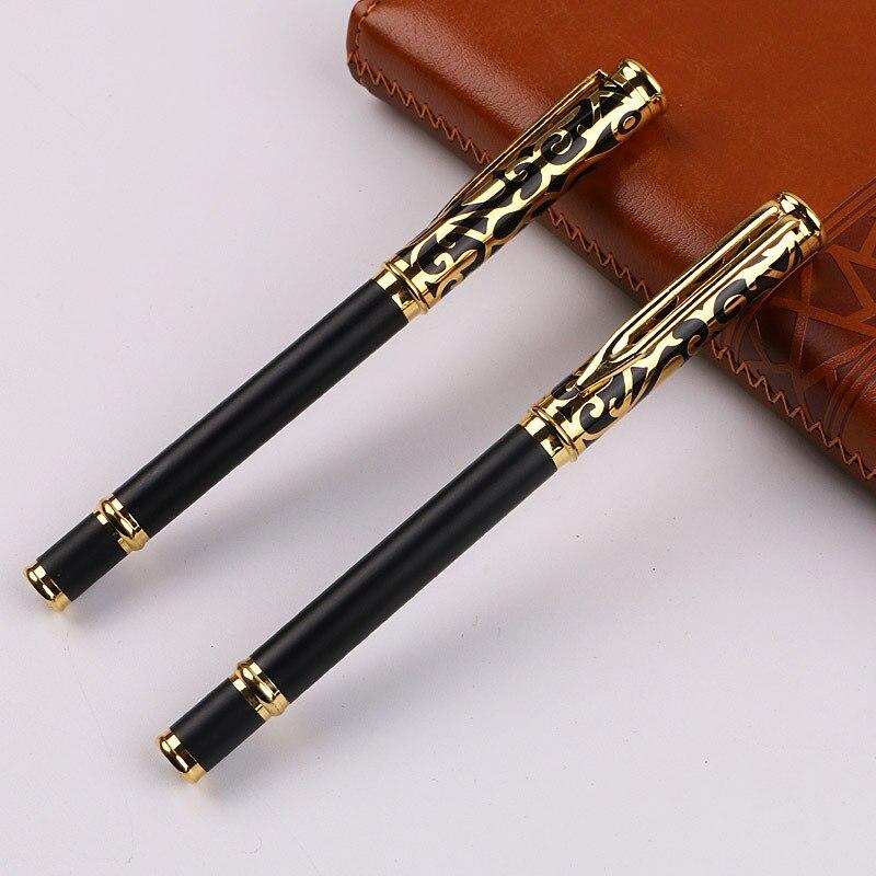Tallas 160 Metal bolígrafo de regalo para negocios publicidad marcador Promoción de apertura logotipo personalizado pluma de firma