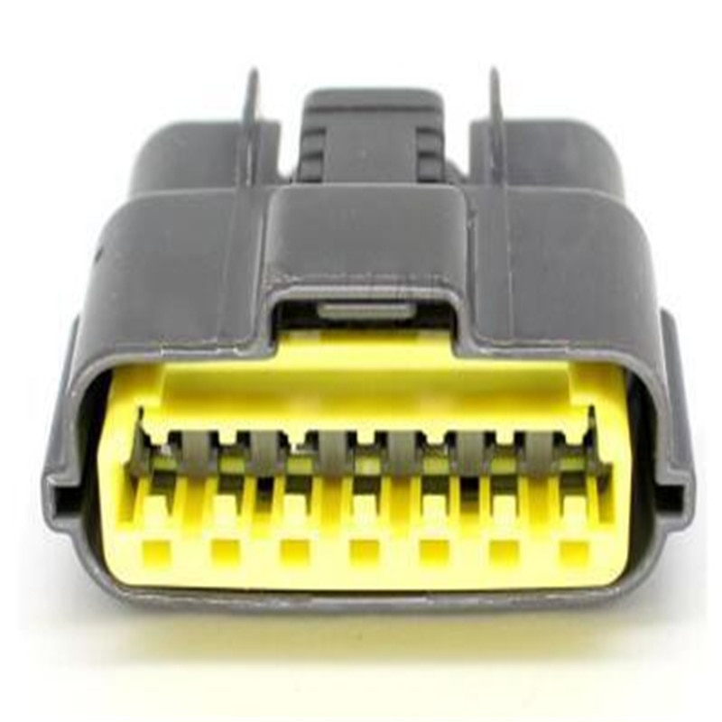 Free shipping 25pcs Connector terminal 6098-0148 7Pin Auto Motorcycle Electronic Wiring Connector For Power Connection