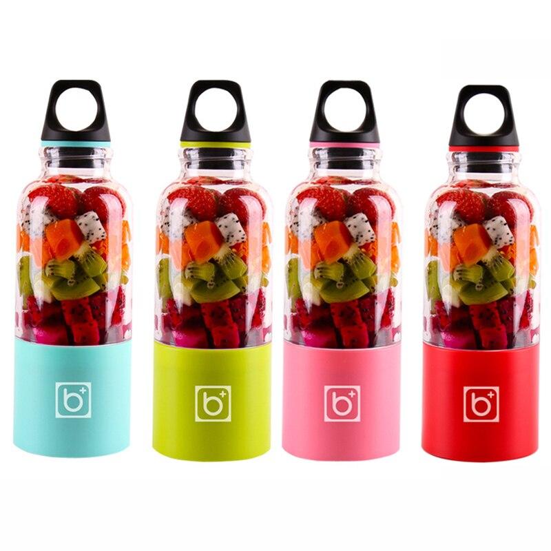 500 مللي المحمولة كوب لصنع العصائر USB قابلة للشحن الكهربائية التلقائي البنغو الخضروات عصير الفاكهة أدوات صانع كوب خلاط خلاط زجاجة