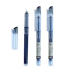 Penna Gel di inchiostro nero trasparente da 0.5mm di alta qualità Little White Dot RP10 cancelleria per ufficio pennarelli per scrittura per studenti materiale scolastico
