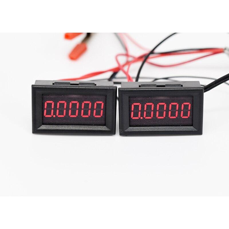 Digital LED Tachometer Gauge RPM Speed Meter Hall Proximity Switch Sensor NPN 12V Auto Replacement Parts High-precision DC 8-24V