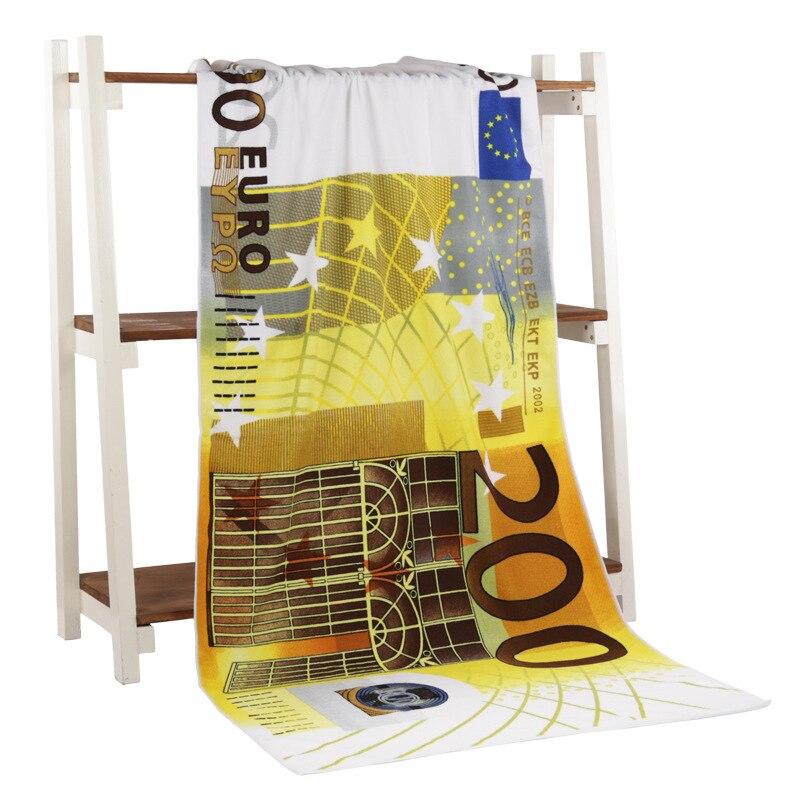 200 اليورو المال منشفة استحمام تجفيف منشفة ملابس السباحة دش 70*140