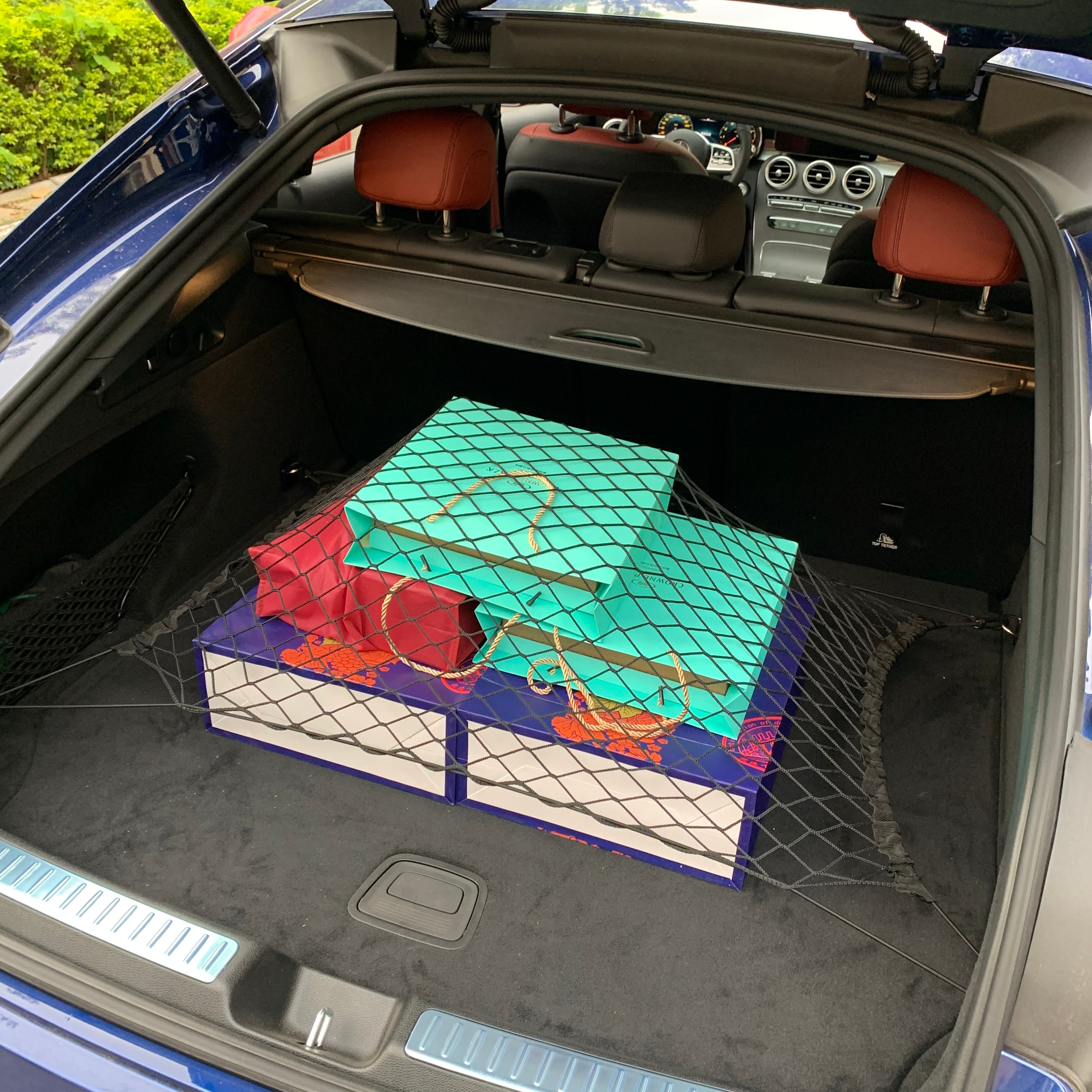 Car Rear Cargo Trunk Storage Organizer Net For Honda CRV Accord Odeysey Crosstour Jazz City Civic JADE Crider Spirior S660