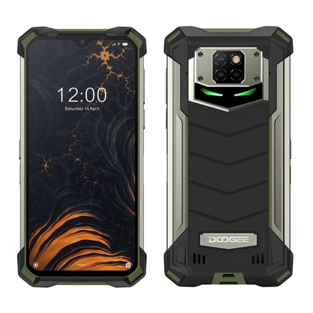Смартфон DOOGEE S88 Pro защищенный, IP68/IP69K, 10000 мАч, Helio P70 восемь ядер, 6 ГБ ОЗУ, 128 Гб ПЗУ, Android 10 OS