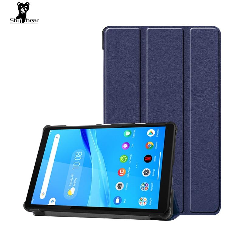 Funda para Lenovo Tab M8 Tablet funda capa para Lenovo Tab M8 TB-8505F/X 8 pulgadas soporte piel protector de pantalla + película