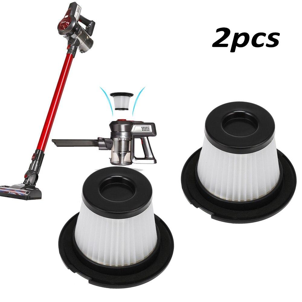 2pcs Filters For Dibea C17 Vacuum Cleaner Replacement Parts White+Black Home tool Kit dibea c17 parts high quailty