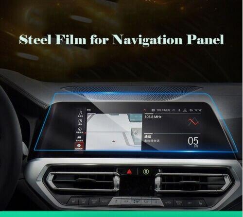 Para BMW 3 Series G20 2019-presente Diseño de coche GPS pantalla de navegación de vidrio película protectora tablero PET Display película Accesorios