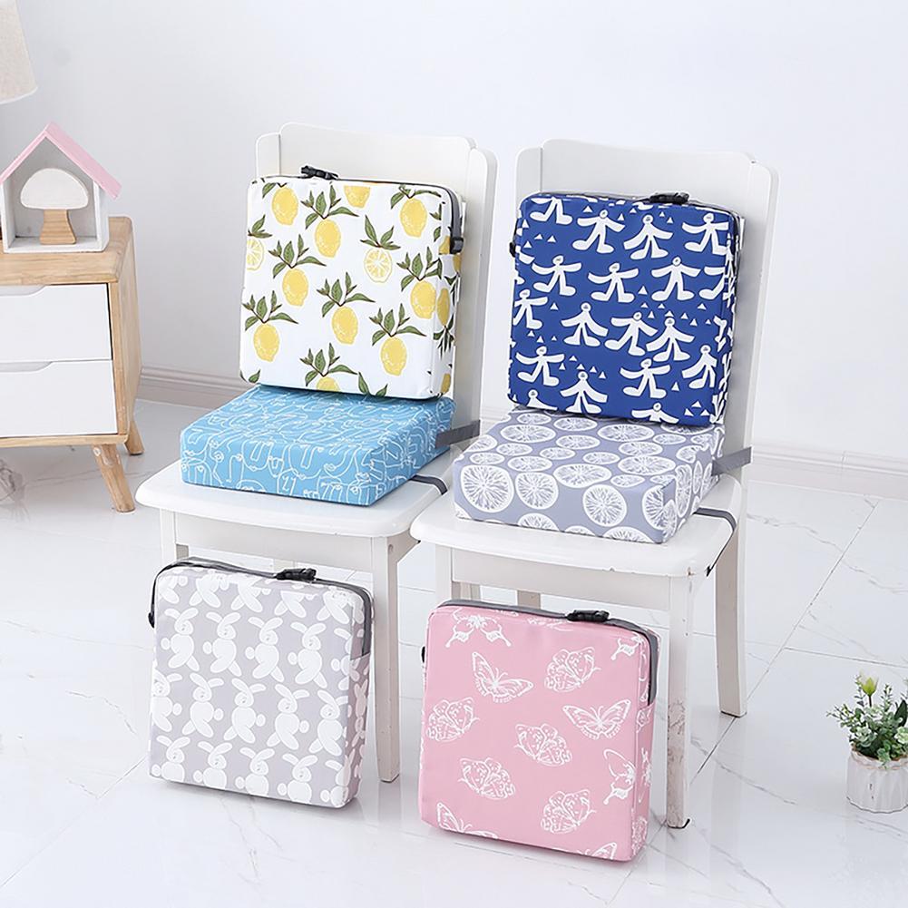 Детское сиденье-усилитель для обеденного стола, увеличивающая подушку для детей, квадратное сиденье-усилитель, обеденное кресло, моющаяся ...