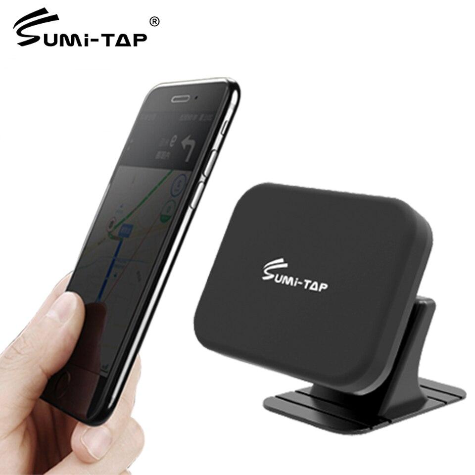 Soporte magnético de teléfono de coche Sumi-tap soporte magnético para salpicadero soporte Universal de 360 grados con ventosa para coche GPS soporte para teléfono móvil