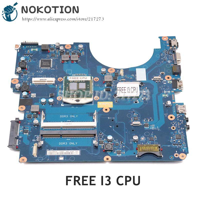 NOKOTION لسامسونج NP-R540 R540 اللوحة المحمول HM55 UMA HD DDR3 BA41-01219A BA92-06381B BA92-06381A