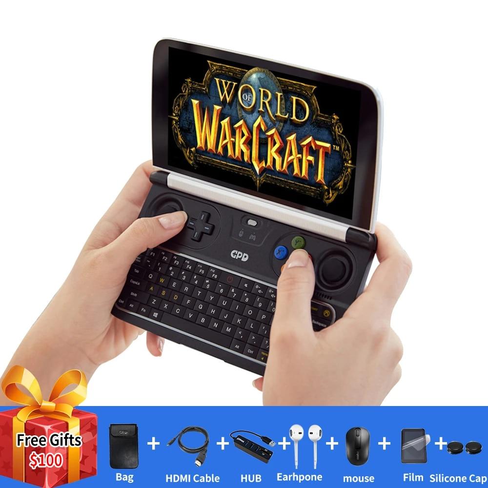 Gpd Win 2 Win2 Intel Core M3 8100y Quad Core 6 0 Pouces Gamepad Tablette Windows 10 8gb Ram 256gb Rom Poche Mini Pc Ordinateur Portable