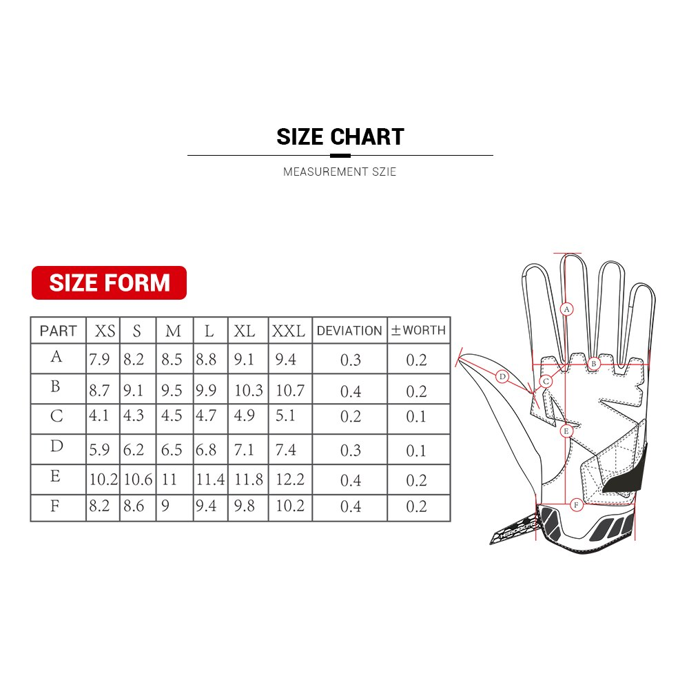 Gloves Motorcycle Summer Motorbike Cycling Gloves Full Finger Guantes Moto Comfortable Motocross Gloves Touch Screen enlarge