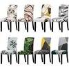 Taille universelle grande couverture de chaise élastique noël pas cher couverture de chaise extensible housses de siège pour salle à manger hôtel Banquet maison