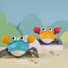 Baby Bath Toys Childrens Bath Toys Crab Toys Clockwork Toys Bathroom Bath Toys Beach Toys Water Spray Toys Simulation Crab Toys