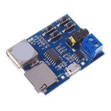 HotMp3 ضياع فك التشفير مكبر كهربائي مشغل Mp3 وحدة صوت Mp3 فك مجلس دعم TF بطاقة USB