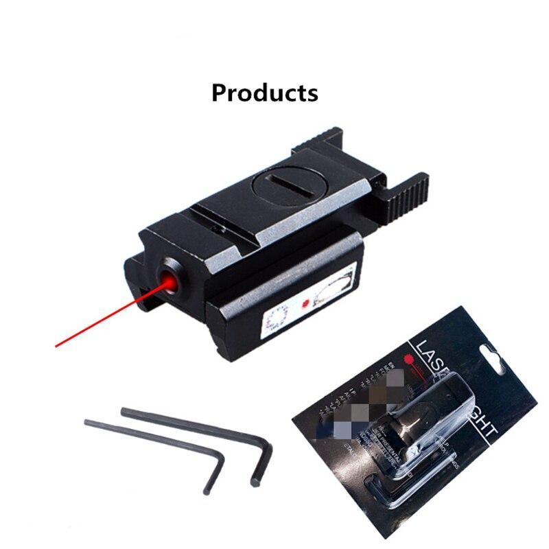 Лазерный прицел с низкой орбитами, лазерный прицел с винтовкой, Воздушный пистолет 11 мм/20 мм, крепление из алюминиевого сплава, материал для ...