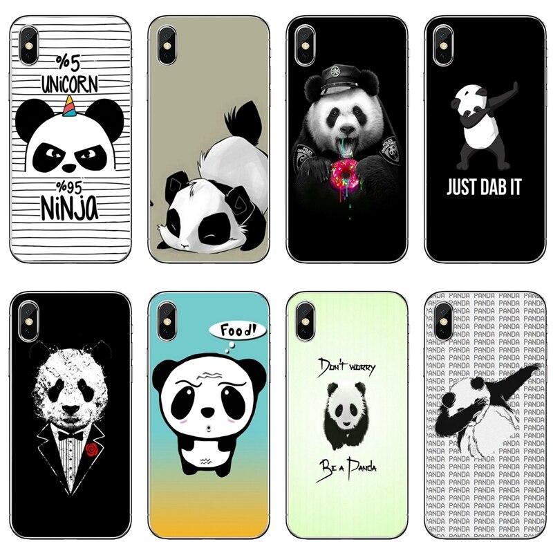 Panda Dab on the EM Silicone phone case For Huawei P30 P20 pro P10 P9 P8 Lite nova 3i G8 P Smart plus 2018 2019