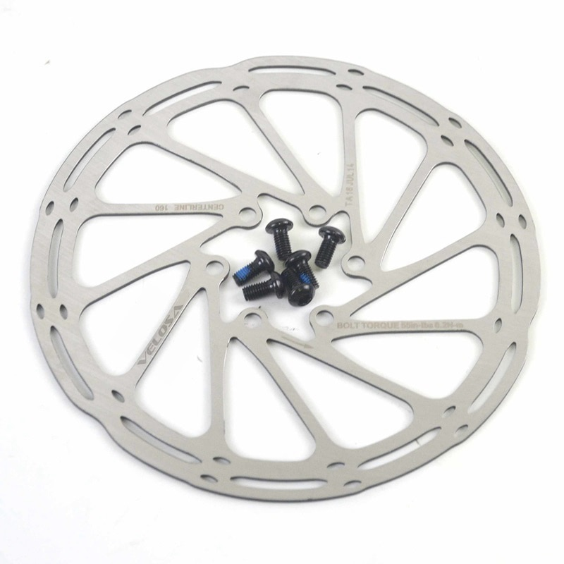 Plaquettes de freins à disque G3 HS, 2 pièces, pour vélo de route, 160/180mm, 6 boulons, Rotor de freins à disque