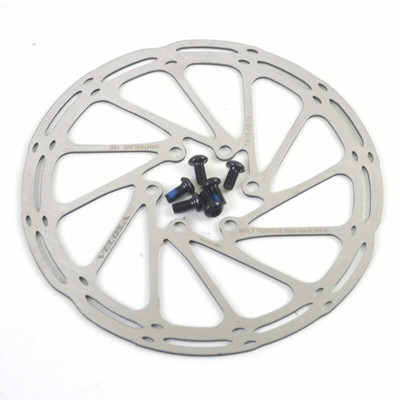 Disco de bicicleta Centerline G3 HS, 2 uds., MTB/Pastillas de freno de disco de bicicleta de carretera, 160/180mm, 6 pernos de disco, Rotor de freno