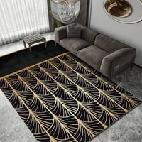 nordic geometry office covered with 3d carpet hotel room carpet bedroom bedside carpet living room coffee table pad