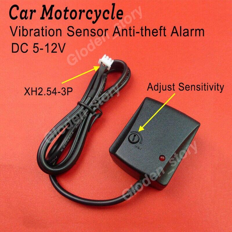 DC5V-12V Anti-theft Security Alarm System Burglar Alarm for Bike Motorcycle Car