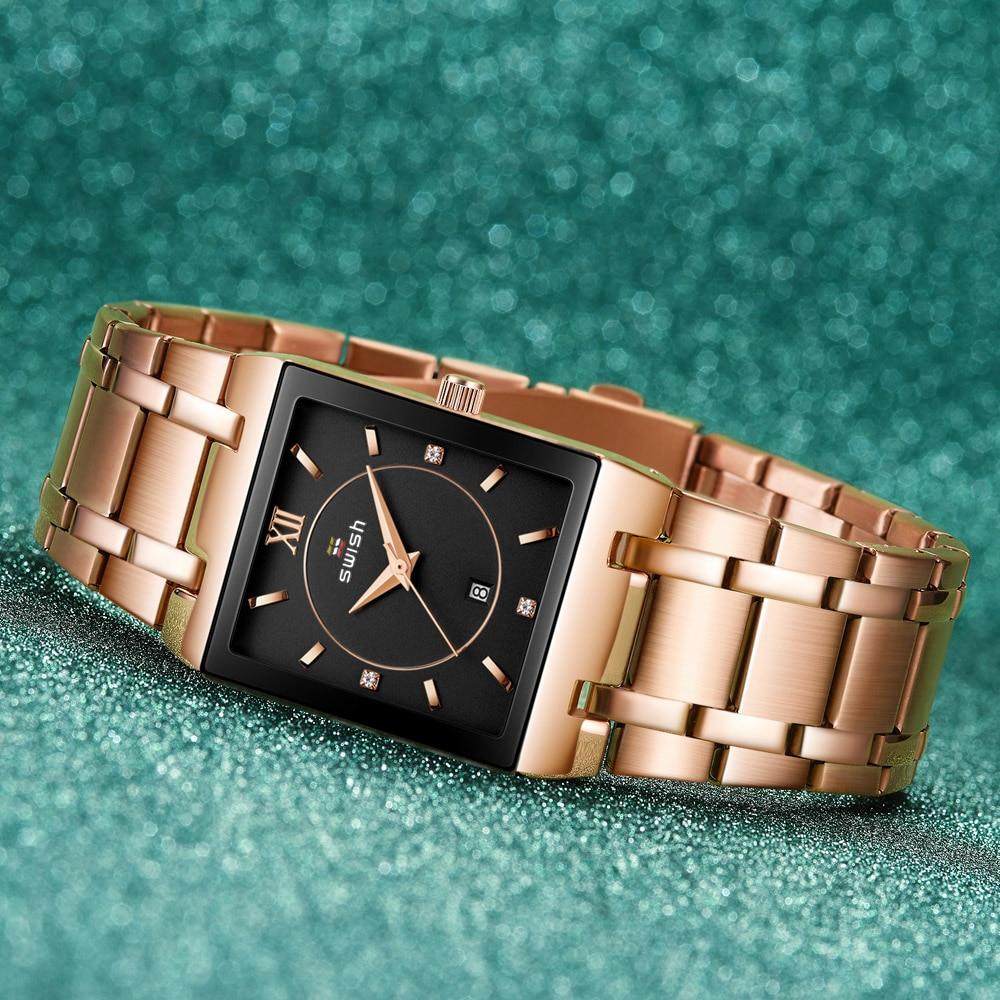 Women's Luxury Bracelet Watches Top Brand Designer Dress Quartz Watch Ladies Golden Rose Gold Wrist Watch Relogio Feminino 2020 enlarge