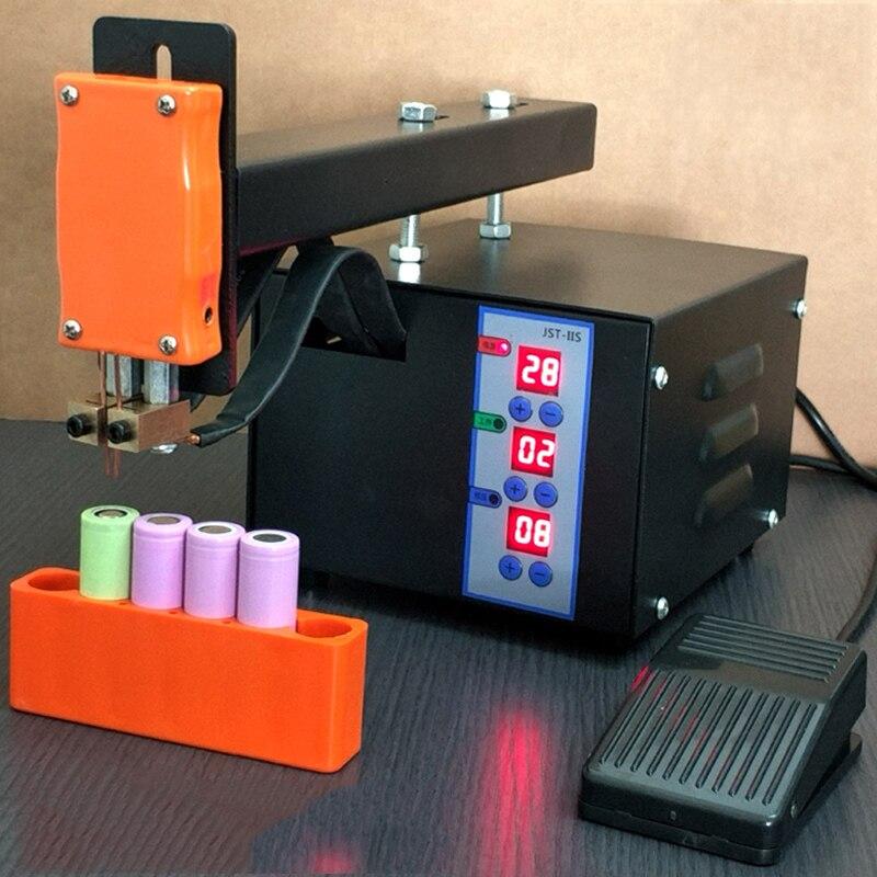 Paquete de batería portátil 3KW soldador de punto 18650 Paquete de batería máquina de soldadura 110 V/220 V