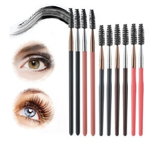 1pc Pro Makeup Eyelash Eyebrow Brush Mascara Wands Applicator Eye Lashes Cosmetic Brush Tools Eyelas