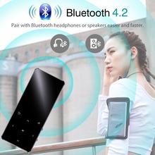 Lecteur MP4 avec Bluetooth 4GB 8GB 16GB lecteur de musique avec touche tactile radio fm lecture vidéo E-book lecteur hifi baladeur MP4