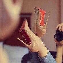 Marque femme 8cm 10cm 12cm rouge chaussures à talons hauts talon mince pour les femmes chaussures de mariage super talons hauts avec tiroir