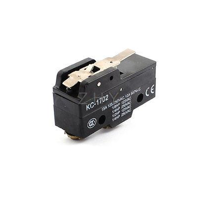 AC125V/250 V 15A AC500V 10A límite Micro interruptor en miniatura de acción mucho