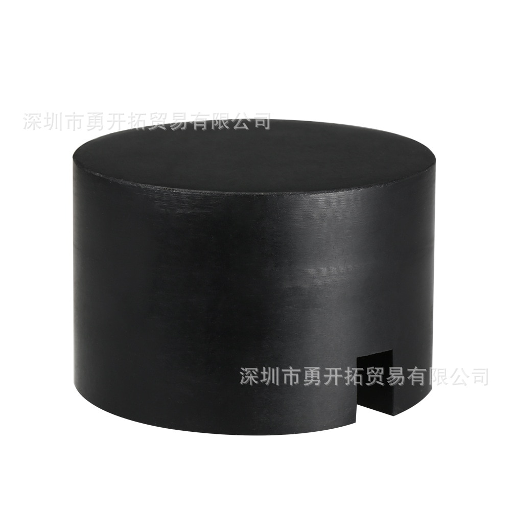 Cross-border hot-selling products domestic wholesale black jack wheel axle rubber pads, heightened models, general models