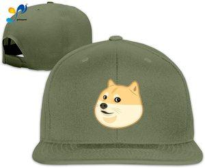 Yellowpods Emeji Doge Men's Relaxed Medium Profile Adjustable Baseball Cap