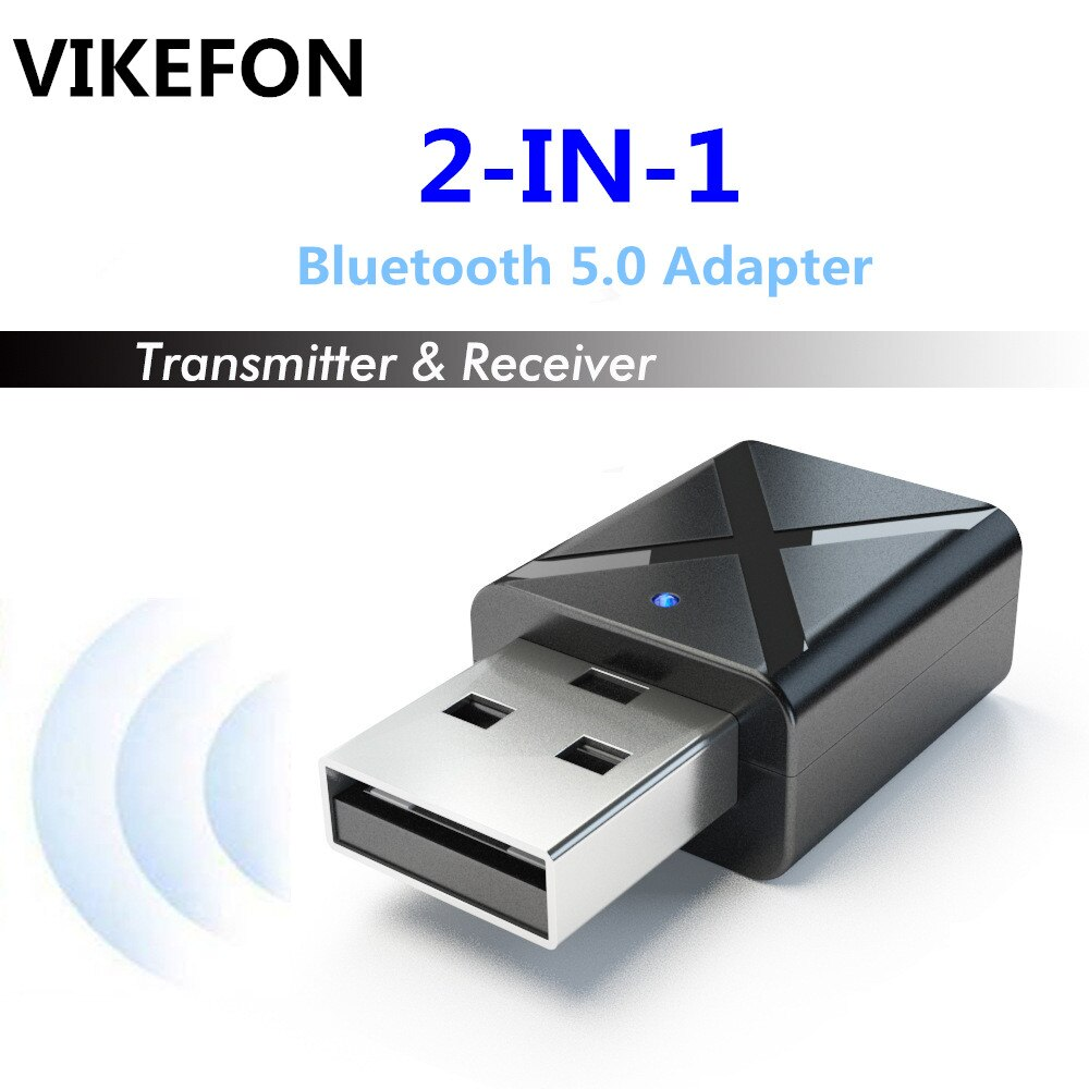 VIKEFON Bluetooth 5,0 Audio Receiver Transmitter Mini Stereo Bluetooth AUX RCA USB 3,5mm Jack Für TV PC Auto Kit wireless Adapter