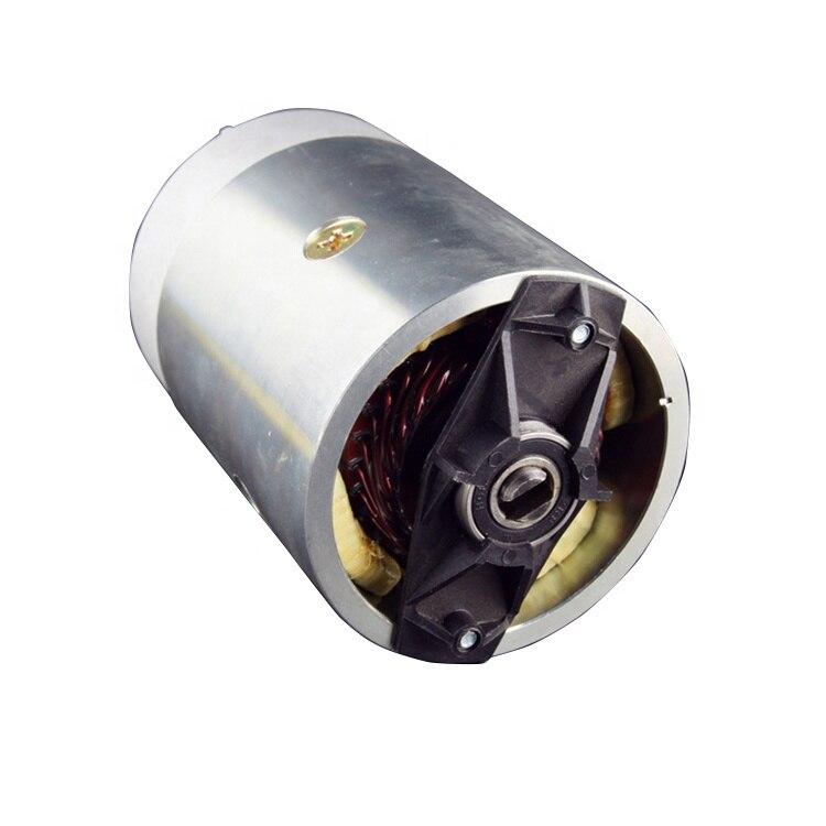 12 فولت موتور تيار مباشر 2KW عالية الطاقة فرشاة المحرك مع مضخة od 114 مللي متر ل شاحنة قلابة