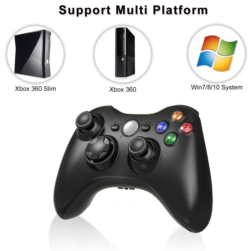 2.4G Wireless Gamepad For Xbox 360 Console Controller Receiver Controle For Microsoft Xbox 360 Game