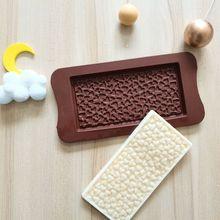 Moldes de silicona para Chocolate, herramientas de decoración para pastel de amor pequeño, accesorios de repostería, diseño de Mousse