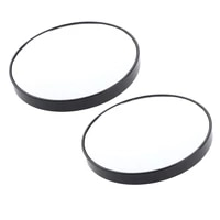 magideal 2pcs 15x magnifying mirror with suction cups use for makeup shaving