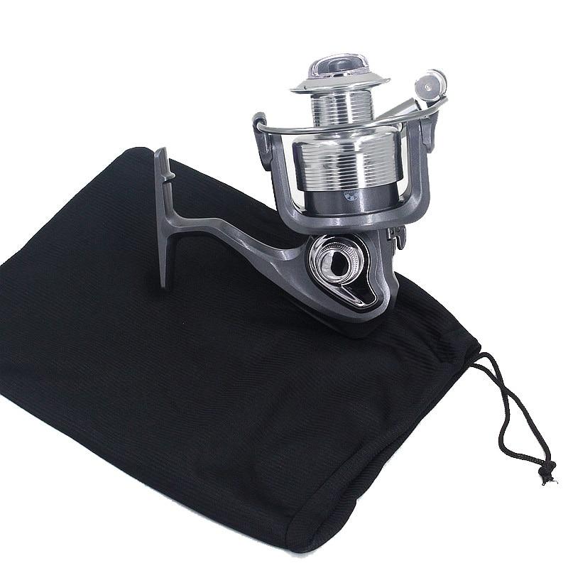 Cloth Bag Fishing Reel Wrap Protective Case Casting Reel Wheel Fishing Accessories Protector Reel Fishing Tackle