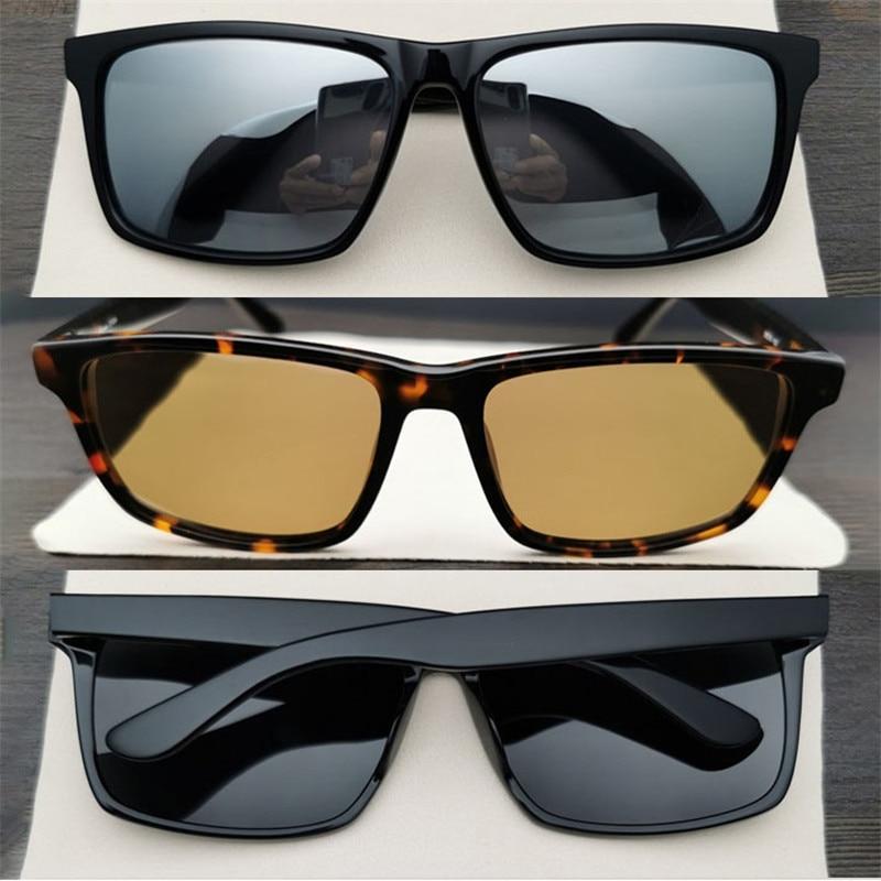 Evove-نظارات شمسية مستقطبة للرجال والنساء ، مقاس كبير ، 162 مللي متر ، إطار ضخم ، أسود ، وجه كبير