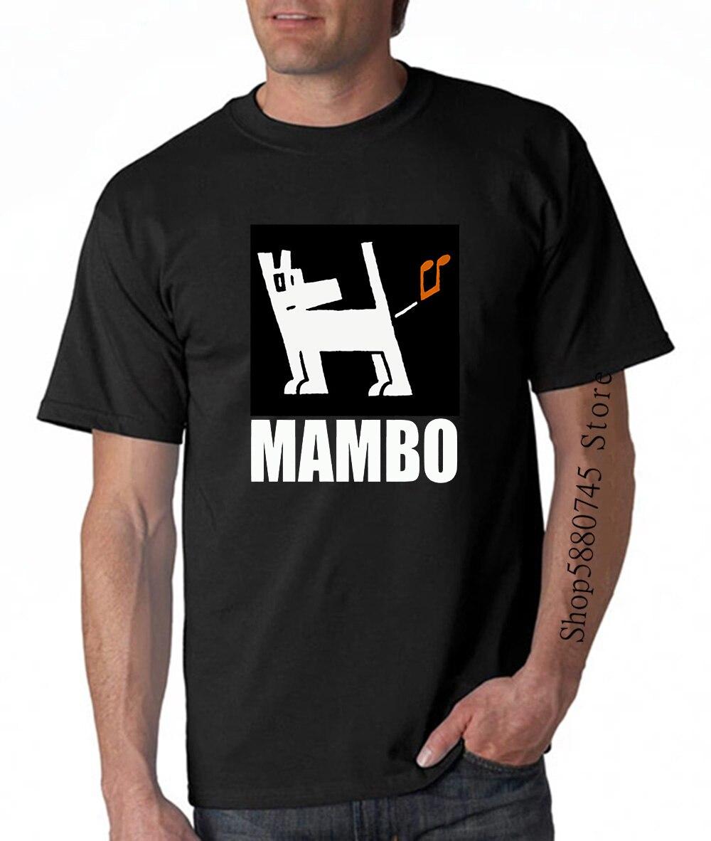 Vtg Mambo Triple un chien pet 1989 T Shirt fort avance Skate t-shirt