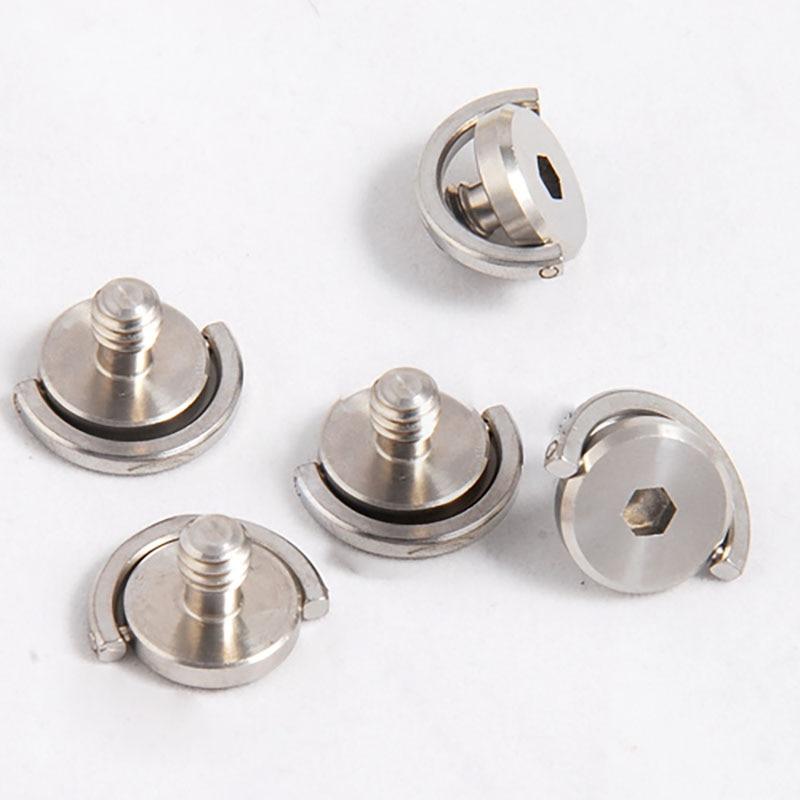Увеличенное C-образное кольцо 1/4, винт камеры, винт камеры с шестигранной головкой, ручной винт камеры для оборудования камеры