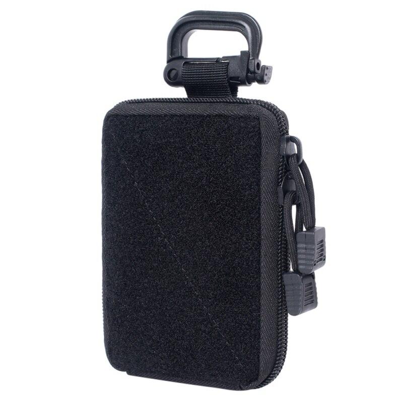Molle saco tático edc bolsa gama saco organizador médico 2 bolsa militar carteira pequeno saco de caça ao ar livre acessórios equipamentos