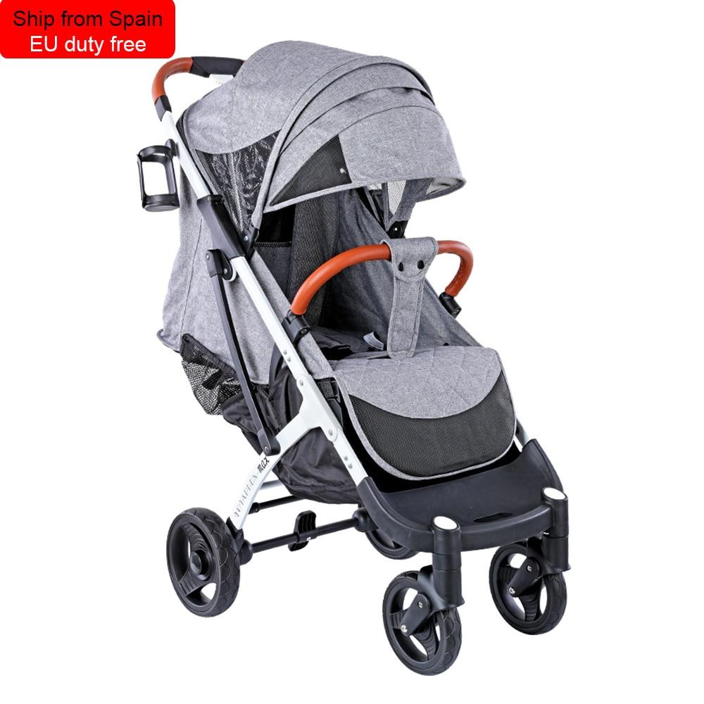 Yoyaplus Max Newest Baby Trolley  Stroller Baby Car Barrow Foldable Free Boarding Shipp From Spain Fast Delivery EU Duty Free