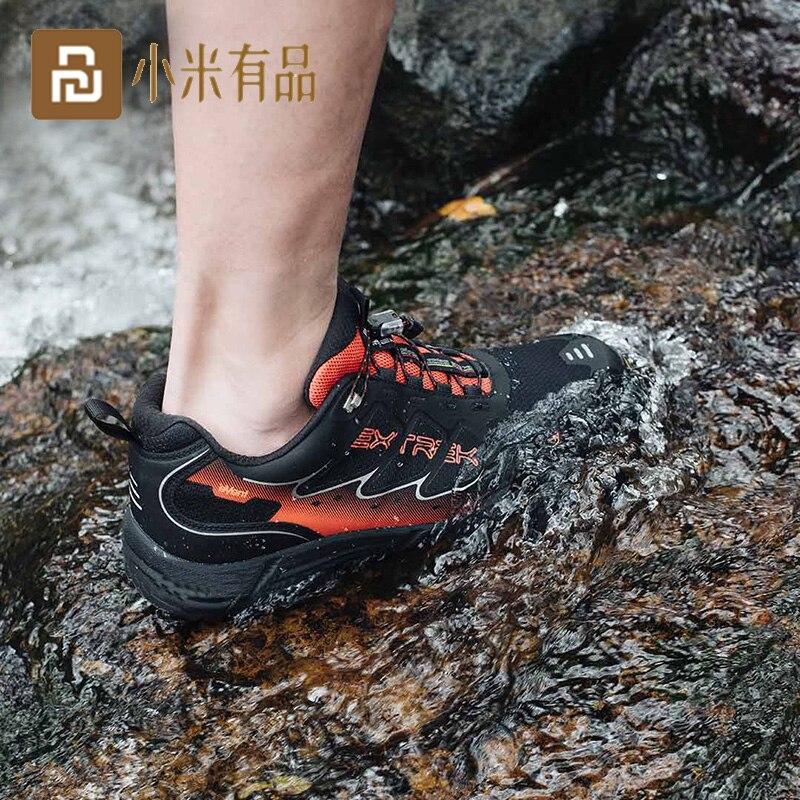 أحذية خارجية مقاومة للماء للرجال ، أحذية المشي لمسافات طويلة ، نعل خارجي مضاد للانزلاق ، مقاوم للماء ، سريع الجفاف ، التخييم ، التسلق ، الأحذ...