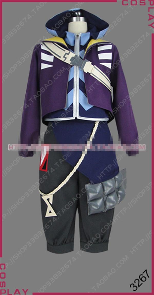 2019 LOL New Group True Damage Band  Ekko Cosplay Costume Halloween Christmas Uniform Customize Free shipping
