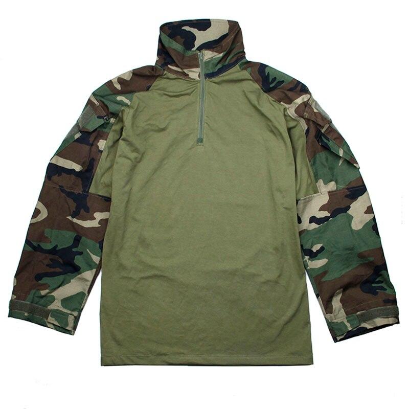 2018 Style TMC ORG Cutting G3 Combat Shirt CS Hunting Tactical Uniform Clothes Jacket WL(Woodland) color